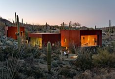 Desert Nomad House: Architect Rick Joys Sonoran Cubes