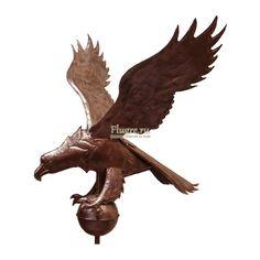 Флюгер Орёл на шаре