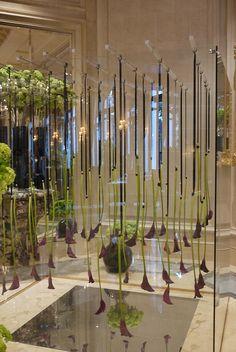George V Hotel's Upside Down Purple Calla Lilies by EmpressM, via Flickr