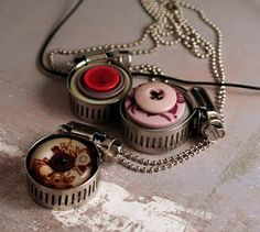 olive bites studio home of cat ivins and the polarity locket: Upcycled Jewelry Tutorial - Christmas Countdown Week lll - let's make jewelry!