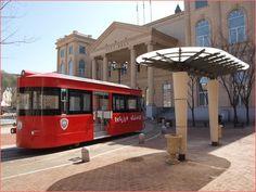 Tour tram in Paju