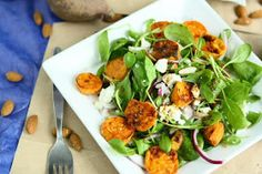 Angie's Recipes . Taste Of Home: Sweet Potato Salad with Baby Spinach and Feta