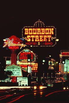 Flamingo Rd, Las Vegas, c. 1985
