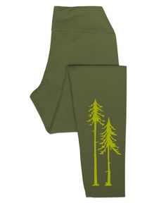 Two Pines Organic Cotton Leggings: Soul Flower Clothing
