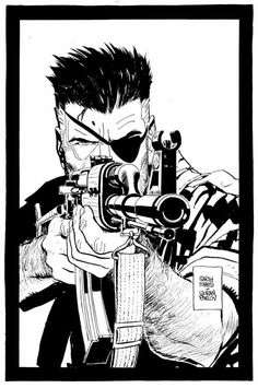 Nick Fury, by Goran Parlov
