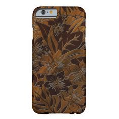 Anini Beach Faux Wood Hawaiian iPhone 6 case
