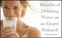 Benefits of Drinking Water on an Empty Stomach, water, tap water, bottled water, spring water, water therapy, clean water, Detox waterPositiveMed | Where Positive Thinking Impacts Life