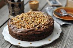 Dupla Nutellás-málnás csokitorta - csakapuffin.hu Hazelnut Cake, Nutella, Vaj, Cooking Recipes, Treats, Food, Sweet Like Candy, Goodies, Chef Recipes
