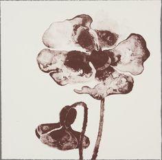 Ruth Asawa - Flowers VIII, 1965; lithograph