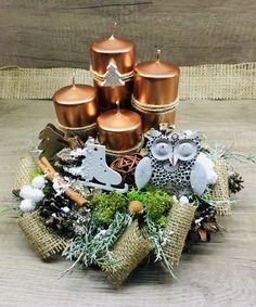Christmas decoration Advent, Planter Pots, Christmas Decorations, Christmas Decor, Christmas Tables, Christmas Jewelry