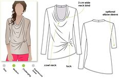 Style Arc - Molly Knit Top