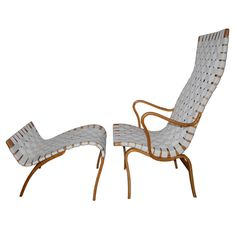 Chapter 27 Scandinavian Modern -   Bruno Mathsson chair that was the forerunner for what we now see around pools