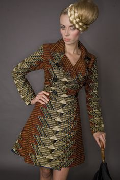 Love the geometric weave of this coat £130