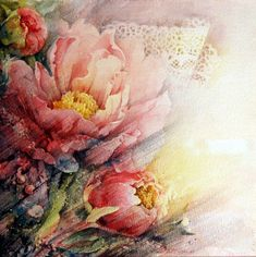 Moudru Marie-Claire - Floral Paintings by Marie Claire Moudru