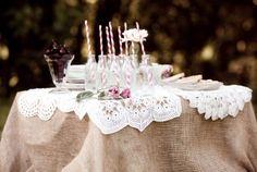 A Garden Tea Party - Part 1 / Wedding Style Inspiration / LANE