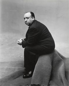 Alfred Hitchcock by Irving Penn