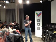 Google Developers Group 5th year anniversary meetup at Google Headquarters 2/6/13.