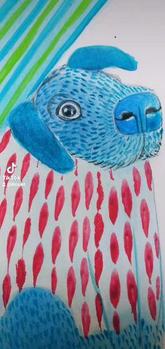 Litca(@litca.art) on TikTok: Familia con paleta de azules #art #acuarela #bluecolor #azul #10kartist #painting #family #artista #watercolor Outdoor Decor, Artwork, Painting, Design, Home Decor, Blue Palette, Pallets, Watercolor Painting, Blue Nails