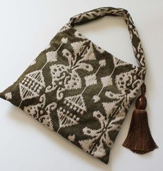 Most Fantastic Boho Style Textile Bag with Amazing by saphkin, $115.00