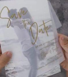 Whimsical Wedding Invitations, Wedding Invitations With Pictures, Acrylic Wedding Invitations, Wedding Stationary, Wedding Invitation Cards, Cute Wedding Ideas, Wedding Boxes, Our Wedding, Happy Wedding Anniversary Wishes