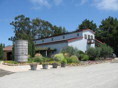 Hagafen Winery on Silverado Trail, Napa Valley, produces delicious kosher wines