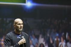 Added pressure on Benitez comes in the form of legendary figure Zinedine Zidane, the club's B-team boss