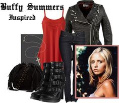 """""""Buffy Summers Inspired"""" by natasha-bbruce on Polyvore"""