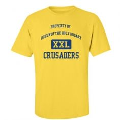 Queen Of The Holy Rosary School - Necedah, WI | Men's T-Shirts Start at $21.97