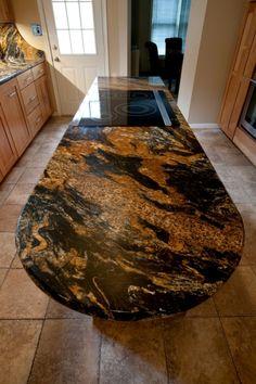 Magma Gold Granite by Granite Grannies (granitegrannies.com) #granite