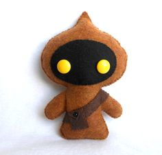 PDF PATTERN Star Wars JAWA Plush Pattern by deadlysweetplushes