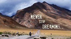 Never Stop Dreaming..  www.motoquest.com