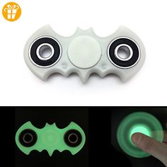 Batman-Inspired GLOW IN THE DARK Fidget Spinner - UK Seller Ships By Amazon Prime For Fast Delivery - Ideal For Toy and Stress Relief! - Fidget spinner (*Partner-Link)