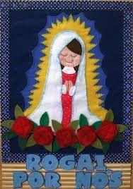 Resultado de imagem para marcador de livro em feltro de santos