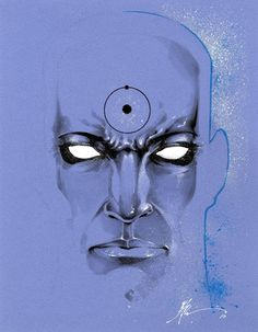 Dr Manhattan by Jonathan Glapion