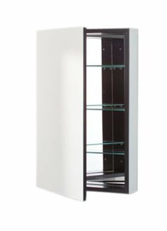 Robern PLM1630B PL Series Flat Plain Mirrored Door, 15-1/4-Inch W by 30-Inch H by 3-3/4-Inch D, Black Interior by Robern. $271.05. From the Manufacturer                Robern PL Series 15-1/4-Inch W by 30-Inch H by 3-3/4-Inch D Flat Plain Mirrored Door with Black Interior PLM1630B. Why Robern? There are plenty of reasons. Perhaps it's because the delicate lines of a Robern mirror frame express your personal aesthetic in a way nothing else can. Or it could be the simple comfort th...
