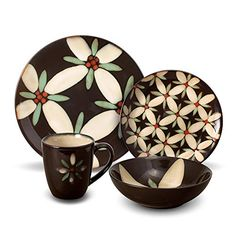 Gourmet Basics by Mikasa Star Daisy 32 Piece Dinnerware Set, Service for 8 - Black|Tan Mikasa http://www.amazon.com/dp/B00AYCQE8Q/ref=cm_sw_r_pi_dp_6ay2ub032SDZZ