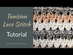 Tunisian Blanket Sweater Pattern with Stitch Tutorial