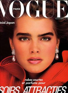 Brooke Shields...she defined the 80s