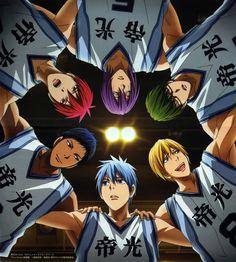 Kuroko no basket - Saison 3 Manga Anime, Anime Neko, Haikyuu Anime, Anime Guys, Basketball Manga, Kuroko's Basketball, Kuroko No Basket Characters, Anime Characters, Kise Kuroko
