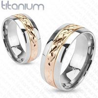 Give The Strength of Titanium - http://www.forevergifts.com/titanium-rings/