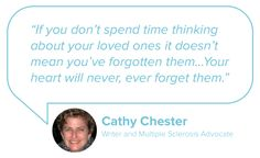 When a loved one passes away, the combination of stress and sadness can often seem like too much to bear. Writer and MS advocate Cathy Chester shares her best advice for how to deal with the loss of a loved one: http://blog.mangohealth.com/post/151292893664/how-to-deal-with-the-loss-of-a-loved-one