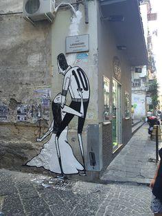 Alex Senna - Street art in Italia. Via Sanità, Napoli