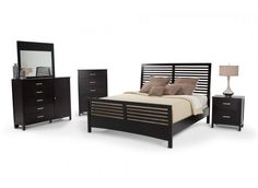 Dalton 8 Piece King Bedroom Set | Bob's Discount Furniture