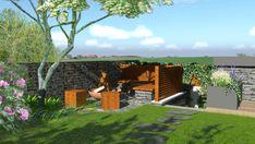 Detailní pohled na ohniště  #flowergarden #garden #familygarden #landscapearchitect  #praque #zahradniarchitekt #praha #zahrada #moderngarden #rodinnazahrada #czechgarden #letemkvetem #mywork Praha, Plants, Plant, Planets