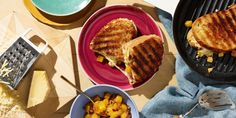 Grilled Cheese with Peach and Mango Tea Chutney  - Delish.com