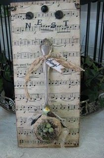 altered art  Love this one too!