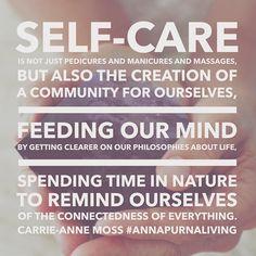 quote self care Annapurna living