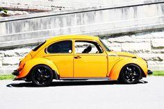 beetle - yellow car