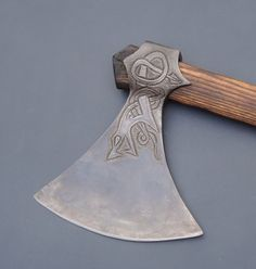 Viking Dane Axe Head, by Elmer Roush http://hedendom.tumblr.com/post/107898559678/viking-age-axe-reproductions-by-elmer-roush