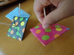 なつかしい!折り紙を使ったコマの作り方 | nanapi [ナナピ]